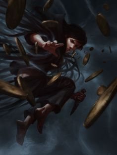"""A lil' fanart I did while reading Brandon Sanderson's """"Mistborn"""" trilogy, more…"""
