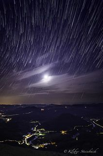 Startrail and the spider city | by steinbach.kleber