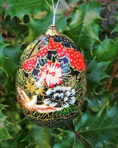 Sale 25 off ukrainian easter egg ornament pysanky christmas sale 25 off washi egg ornament japanese paper by heidiaurich negle Images