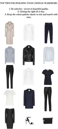 How To Build The Perfect Capsule Wardrobe - Reiss Women's Fashion Blog