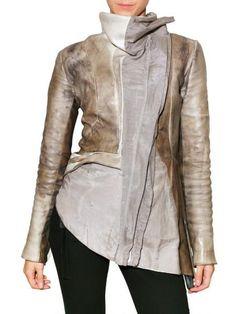 leather jacket, Jessica Trosman