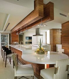 Cheap And Easy Unique Ideas: Kitchen Remodel Black Appliances Interior Design kitchen remodel modern rustic.Kitchen Remodel Cost Tips. Luxury Kitchen Design, Luxury Kitchens, Interior Design Kitchen, Kitchen Designs, Interior Exterior, Small Kitchens, Luxury Interior, Diy Interior, Interior Doors
