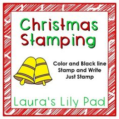 This Christmas stamping center will help your students work on letter recognition and recognizing beginning letter sounds.Stamping pages are in color or black line.  There are stamping only pages as well as stamp and write pages.  Students stamp the beginning letter of the following Christmas words:  bells, stocking, present, cookie, holly, ornament, candy cane, snowman, tree, wreath, candle, and gingerbread man.For other Christmas ideas, please see:Christmas Category