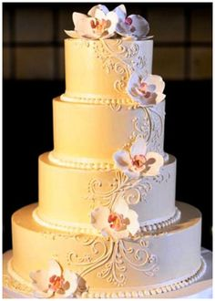 Cheap Buttercream Wedding Cakes | Photo Gallery of the Beautiful Wedding Cakes