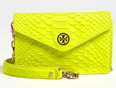 7896156 Bag Report: Tory Burch Neon Snake Cross Body Bag