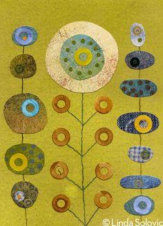 Etsy Blooming Buddies Series by Linda Solovic, via Behance