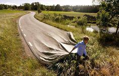 Ketika kehabisan jalan, bikin saja jalan sendiri