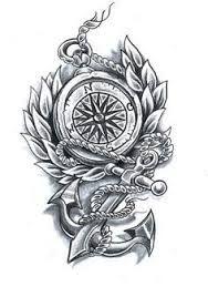Resultado de imagen de compass tattoo
