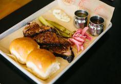 Two & Twelve, American-style Barbeque Restaurant in Bondi - Broadsheet Sydney - Broadsheet Backyard Barbeque, Bbq, Steak, Food And Drink, Tasty, Restaurant, Trays, Recipes, Sydney