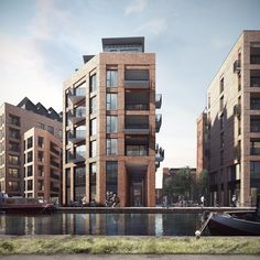 Image 3 of 3 from gallery of Jestico + Whiles Wins Approval for Tower Works Redevelopment in Leeds. © Forbes Massie, Courtesy of Jestico + Whiles Brick Architecture, Architecture Visualization, Residential Architecture, Architecture Details, Classical Architecture, Brick Facade, Facade House, Building Facade, Building Design
