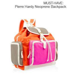 Pierre Hardy Neoprene Backpack