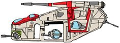 LAAT-C Republic Gunship