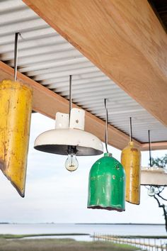 Located underneath the home on stilts, the lower deck offers an inviting space for entertaining and lounging. >> http://www.diynetwork.com/blog-cabin/2016/lower-deck-pictures-from-diy-network-blog-cabin-2016-pictures?soc=pinterest