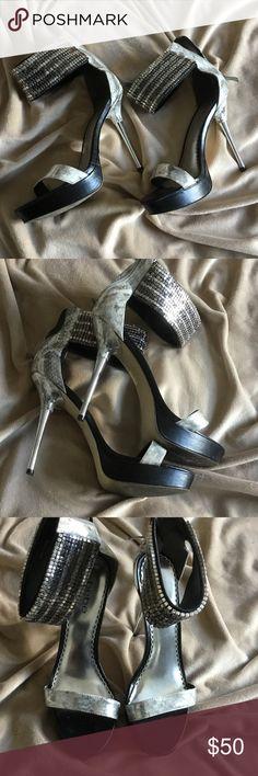 Bebe heels Very cool 😎 shoes 👠 preloved EUC bebe Shoes Heels