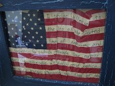 Here's four simple ideas to decorate for the Fourth of July . Nothing shows your patriotism more than displaying the Americ. Classroom Auction Projects, Respect The Flag, Summer Diy, Summer Ideas, Let Freedom Ring, Patriotic Crafts, Old Glory, Party Signs, Red White Blue