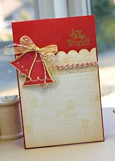 Joy to the World by Lisa Johnson for Papertrey Ink (September 2011).