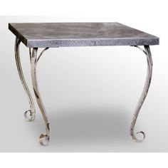 Distressed Steel Table