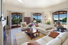 """With the most stunning panoramic views and a very well thought layout this beautiful property, built in a 6.000m2 plot, includes also a wonderful separate """"state of the art"""" guest house. It is located in the prestigious and very well known area La Zagaleta which boasts 2 golf courses, tennis courts and a heli pad."""