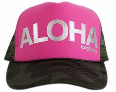 ESKY FLAVOR HAT - ALOHA PINK CAMO 43d0f875e83