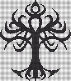 Alpha friendship bracelet pattern added by puppydog. Pixel Art, Bobble Crochet, Crochet Chart, Cross Stitch Designs, Cross Stitch Patterns, Celtic Patterns, Alpha Patterns, Loom Patterns, Perler Bead Art