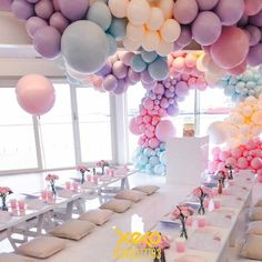 Ideas Para, Balloons, Ceiling Lights, Cake, Party, Balloon Ideas, Food, Gender Reveal, Quinceanera