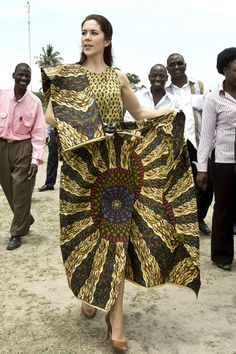 Princess Mary of Denmark completes Mozambique visit in her role as patron of the United Nations Population Fund