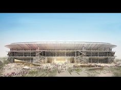 New Camp Nou Stadium / Nikken Sekkei + Pascual i Ausió Arquitectes ⋆ ArchEyes