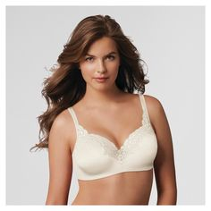 Playtex Secrets Women's Body Revolution Underwire Bra 4823 - Ivory 38DDD