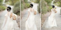 Lace wedding gown Location ~ Kings Park, Perth Photography by DeRay & Simcoe