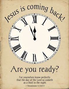 Jesus is coming back! Are you ready? Thessalonians For you yourselves know perfectly that the day of the Lord so comes as a thief in the night. The Words, Bible Scriptures, Bible Quotes, Bible Teachings, Faith Bible, Encouragement, Jesus Is Coming, Faith In God, Word Of God