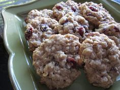 Creatively Domestic: Cranberry Orange Oatmeal Cookies