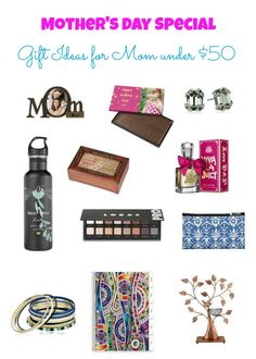 Gift Ideas for Mom under $50