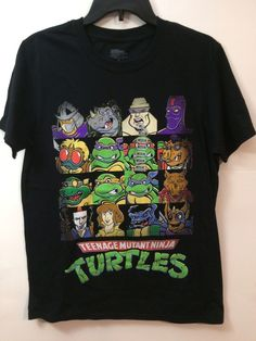 Nickelodeon Teenage Mutant Ninja Turtles T Shirt Medium 2016 Viacom #Nickelodeon #NinjaTurtles