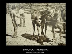 "Western Art by Shoofly, ""The Reata"""