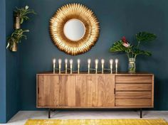 Discover Maisons du Monde's [product_name]. Browse a varied range of stylish, affordable furniture to add a unique touch to your home. Side Board, Sideboard Dekor, Sideboard Ideas, Walnut Sideboard, New Living Room, Living Room Decor, Diy Storage Table, Decoration Buffet, Tv Furniture