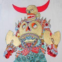 """A selection from """"Wutang"""" by artist @ferrisplock -… http://ift.tt/1duE4Wl @WarholianTweets"""