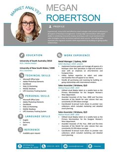18 Free Resume Templates for Microsoft Word | Resume Template Ideas