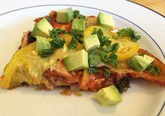 Fresh Veggie Enchiladas #MeatlessMonday