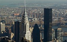 1: The Chrysler building, New York  Picture: EPA