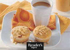 Frühstücksmuffins mit Konfitüreherz Cupcakes, Pudding, Breakfast, Desserts, Recipes, Food, Kuchen, Mother's Day, Oven