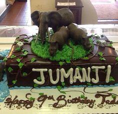 Jumanji cake