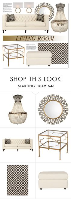 """""""Living Room Decor"""" by kathykuohome ❤ liked on Polyvore featuring interior, interiors, interior design, home, home decor, interior decorating, living room, livingroom, Home and homedecor"""