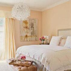 Lucite Bench, Transitional, bedroom, Veranda