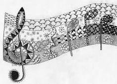 Resultado de imagem para zentangles and doodles