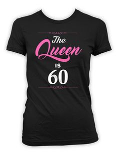 60th Birthday T-Shirt - Great Birthday Gift for any 60 Year Old! >> IF YOUD LIKE TO CUSTOMIZE THE AGE, PLEASE LEAVE A NOTE AT CHECKOUT << Thanks for stopping by BirthdayGoodiesShop. I sell apparel to celebrate life's greatest moments. My products are completely customizable. Whether you're looking for a different year, age or print color, I am happy to personalize your order at no additional charge. BE SURE TO include any personalization notes (ie, dates, age, names) at checkou...