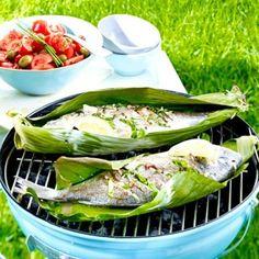 Fisch grillen - Rezepte mit Lachs, Garnelen & Co.