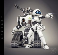 Battle Wall-E and Eve