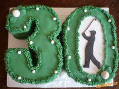 Výsledek obrázku pro dort golf