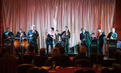 Strangers! This band features incredible rhythm and horn sections, fantastic vocals, and guarantees to get you on the dance floor!