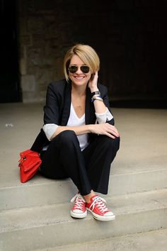 converse red outfit